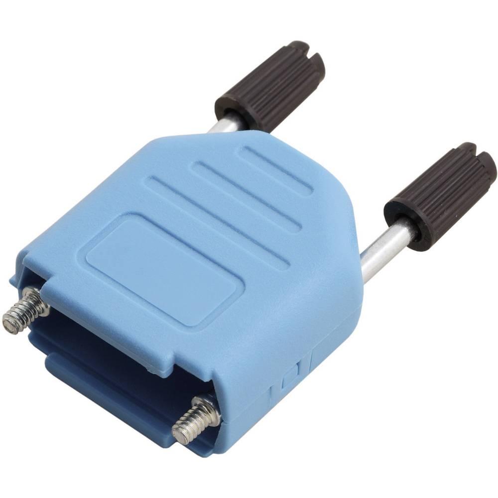D-SUB pokrov iz umetne mase Encitech MHDPPK09-B-K, poli: 9,vsebina: 1 kos 6353-0104-01 MH Connectors