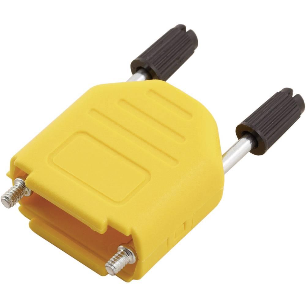 D-SUB Plastični pokrov, št. polov: 15 MHDPPK15-Y-K Encitech 6353-0105-02 MH Connectors