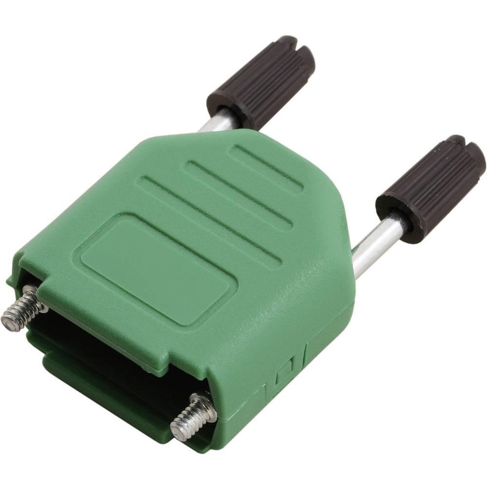 D-SUB Plastični pokrov, št. polov: 15 MHDPPK15-G-K Encitech 6353-0106-02 MH Connectors