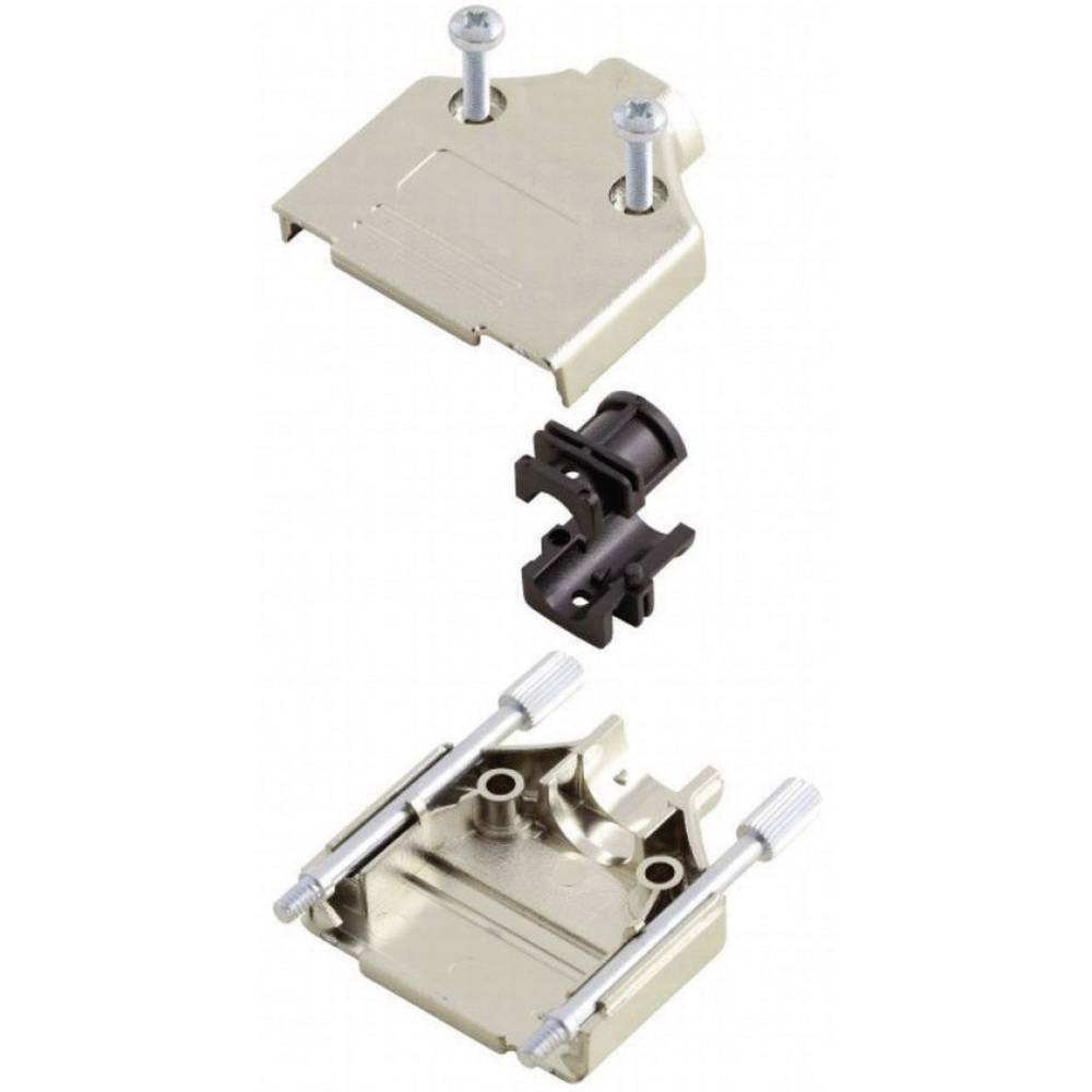 D-SUB Metaliziran plastični pokrov, št. polov: 15 MHDTPK-15-K Encitech 6560-0145-02 MH Connectors
