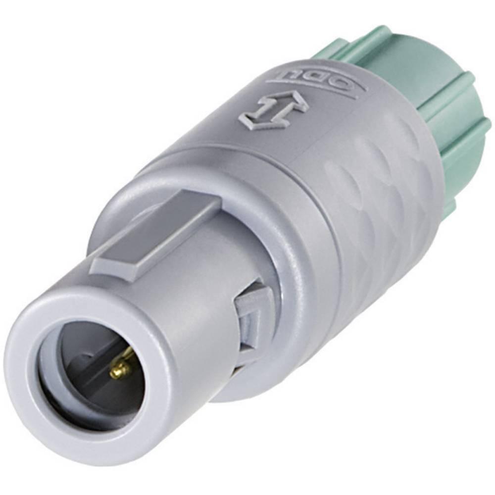 MEDI-SNAP okrogli konektor ODUS11M07-P02MPH0-0000, zapiraloPush-Pull, 14 A, poli: 2