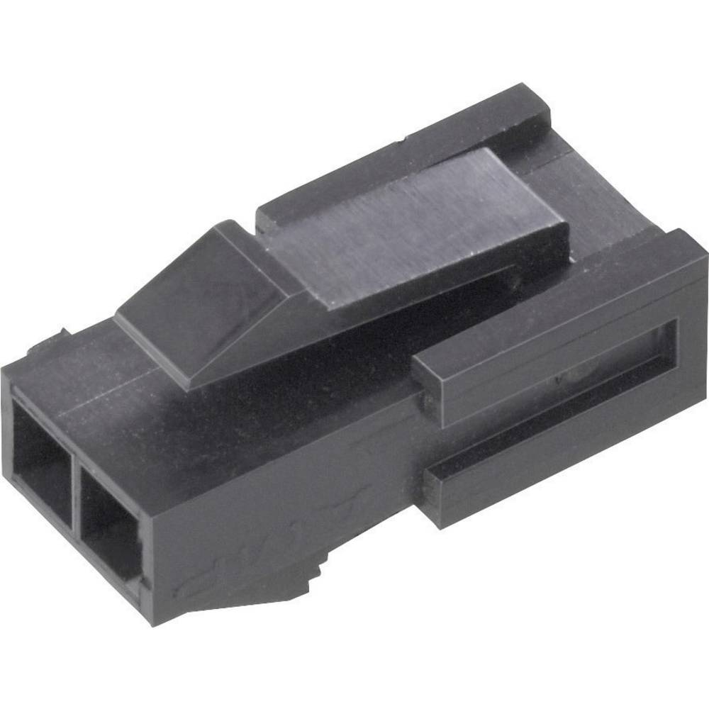 Stiftkabinet-kabel Micro-MATE-N-LOK (value.1360559) Samlet antal poler 6 TE Connectivity 1445048-6 Rastermål: 3 mm 1 stk