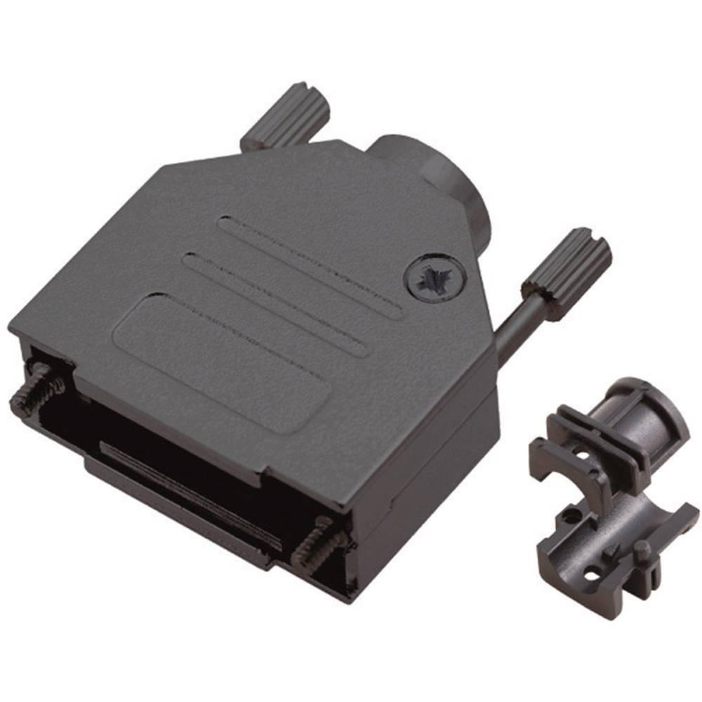 D-SUB Kovinski pokrov, št. polov: 25 MHDTZK-25-RA-BK-K Encitech 6560-0115-03 MH Connectors