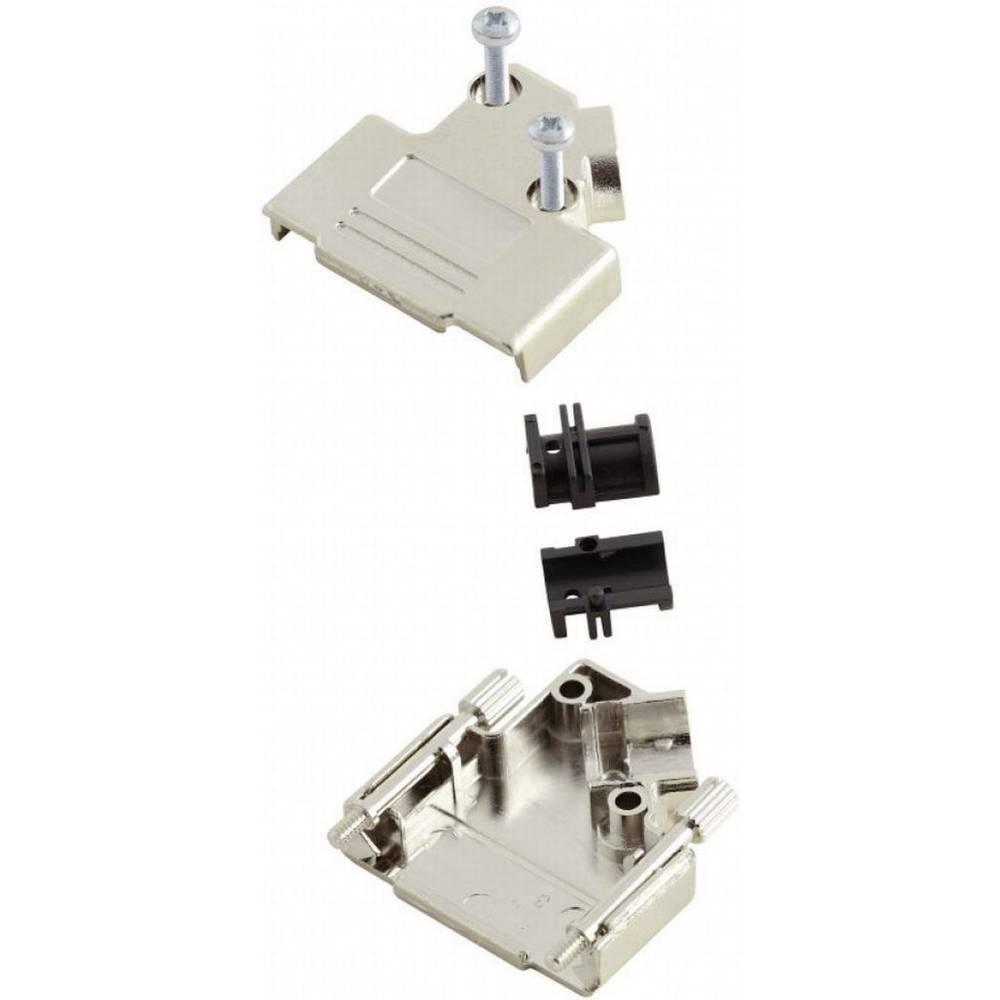 D-SUB Metaliziran plastični pokrov, št. polov: 9 MHD45PK-9-KEncitech 6560-0146-11 MH Connectors