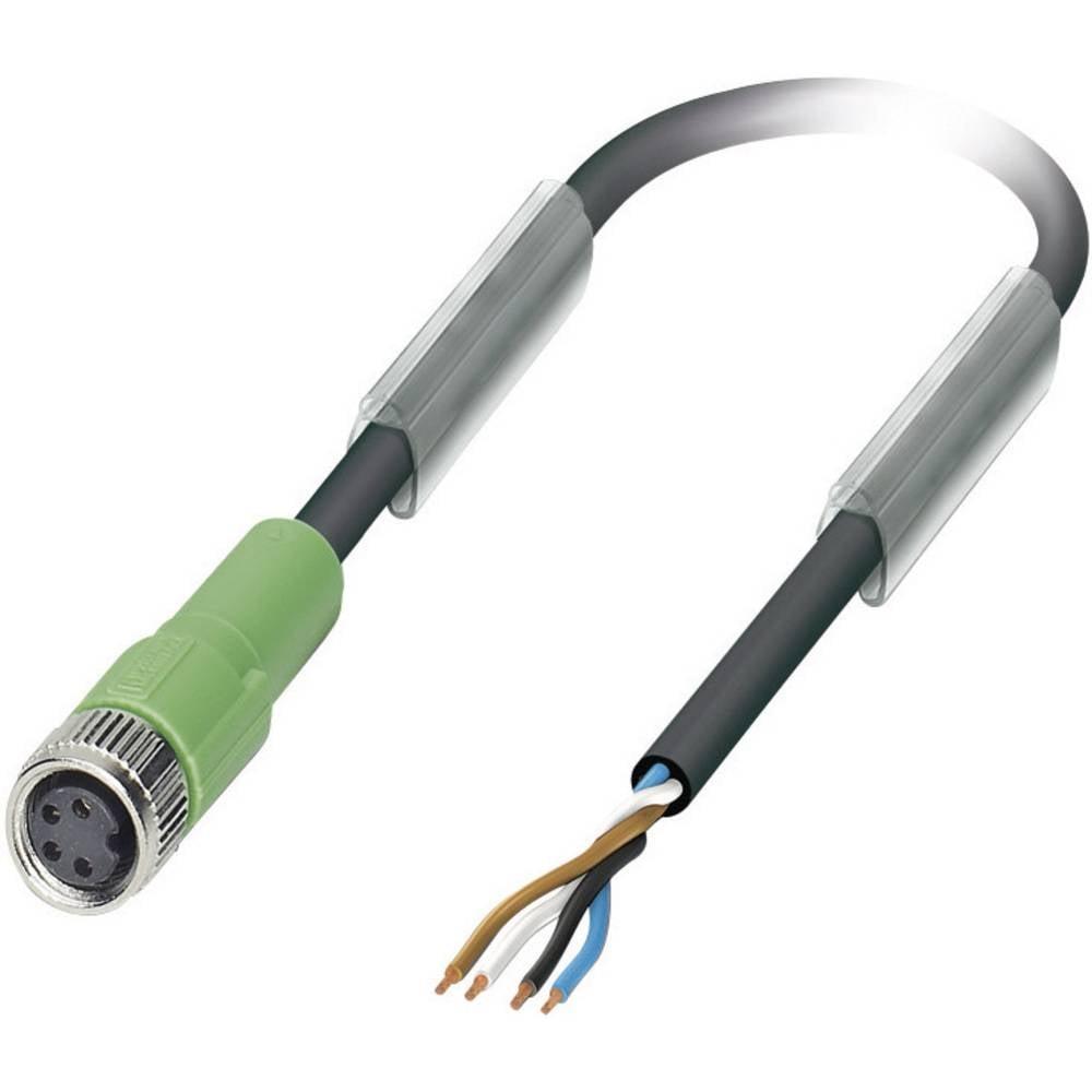 Senzorsko-aktuatorski kabel št.polov: 4 SAC-4P- 5,0-PUR/M 8FS Phoenix Contact vsebina: 1 kos