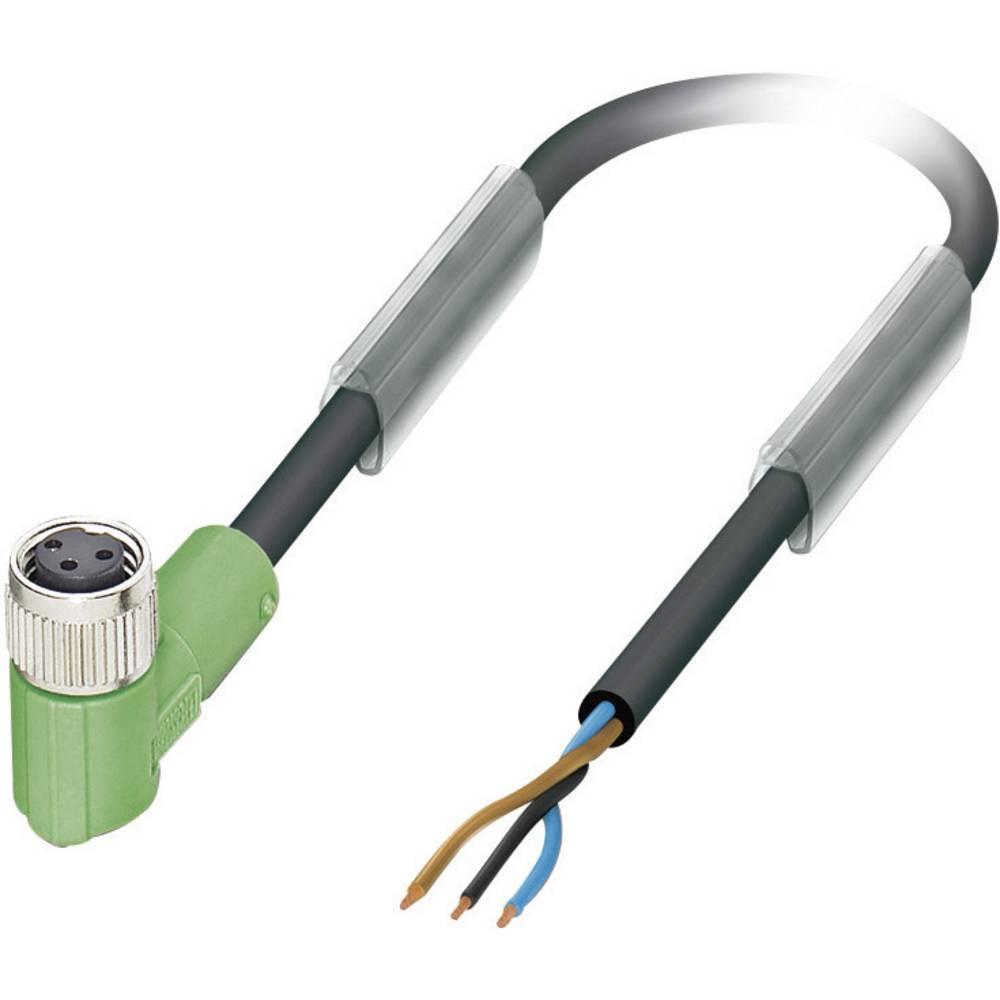 Senzorsko-aktuatorski kabel št.polov: 3 SAC-3P- 5,0-PUR/M 8FR Phoenix Contact vsebina: 1 kos