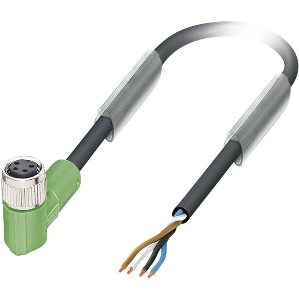 Senzorsko-aktuatorski kabel št.polov: 4 SAC-4P-10,0-PUR/M 8FR Phoenix Contact vsebina: 1 kos