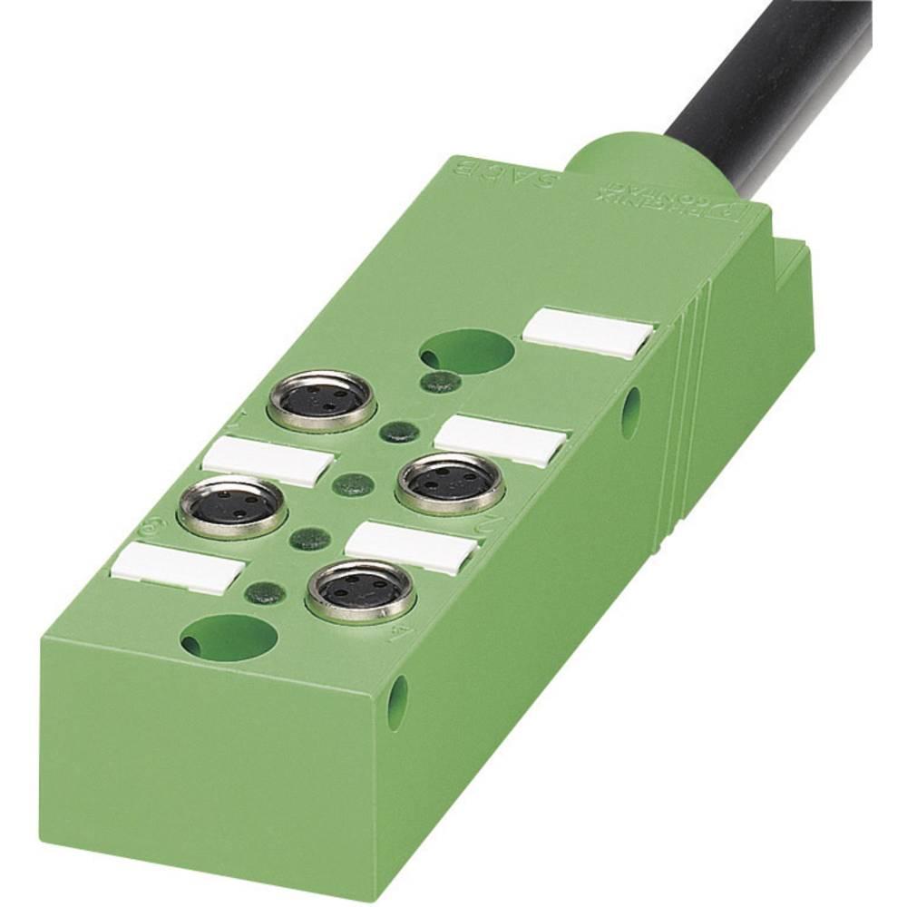 Škatle za senzorje/aktuatorje SACB z vtičnimi mesti M8, kovinski navoj SACB- 6/3-L- 5,0PUR-M 1516030 Phoenix Contact