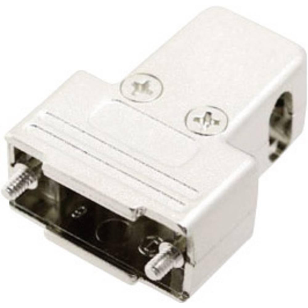 D-SUB Metaliziran plastični pokrov, št. polov: 9 MHTRI-M-09-K Encitech 6550-0100-01 MH Connectors