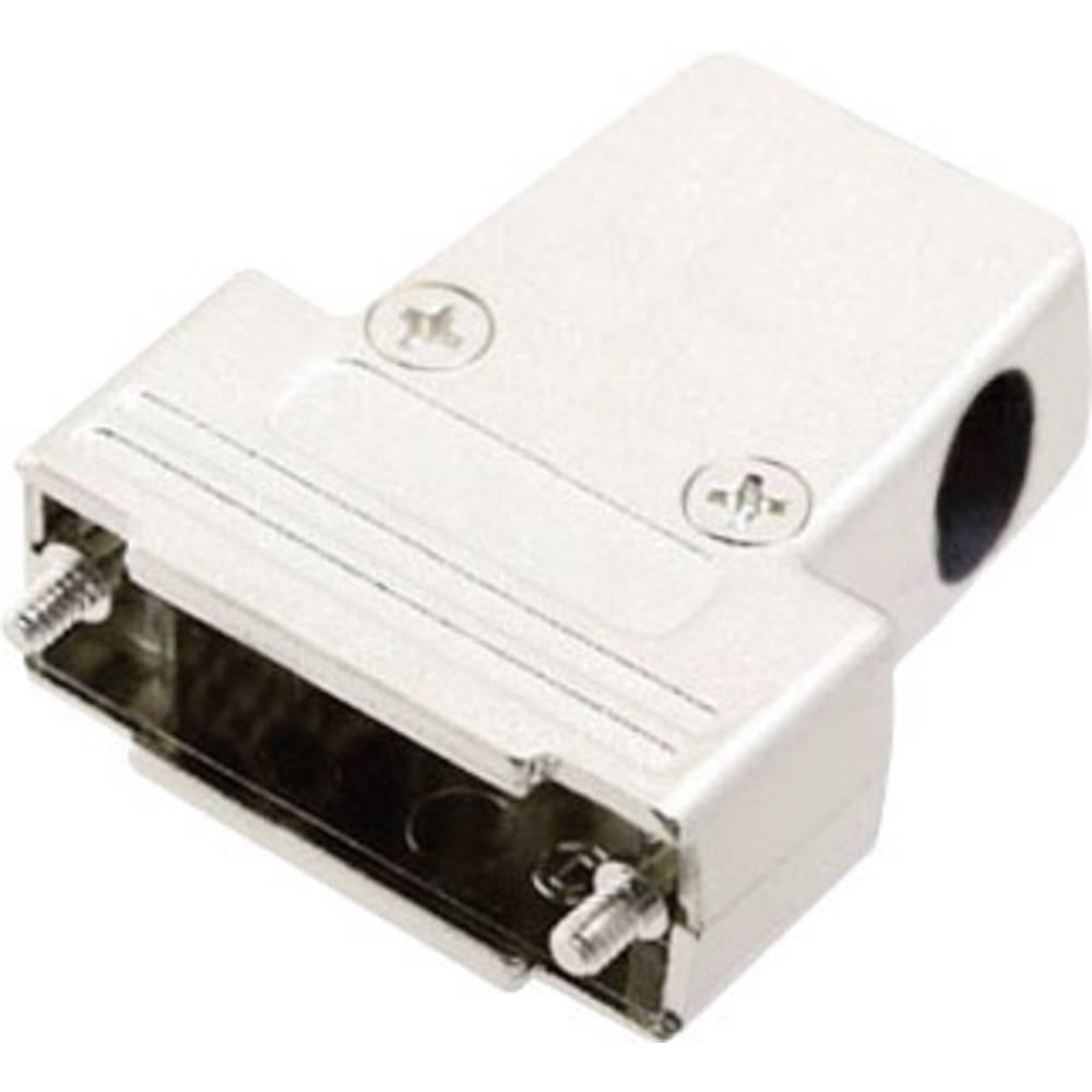 D-SUB Metaliziran plastični pokrov, št. polov: 15 MHTRI-M-15-K Encitech 6550-0100-02 MH Connectors