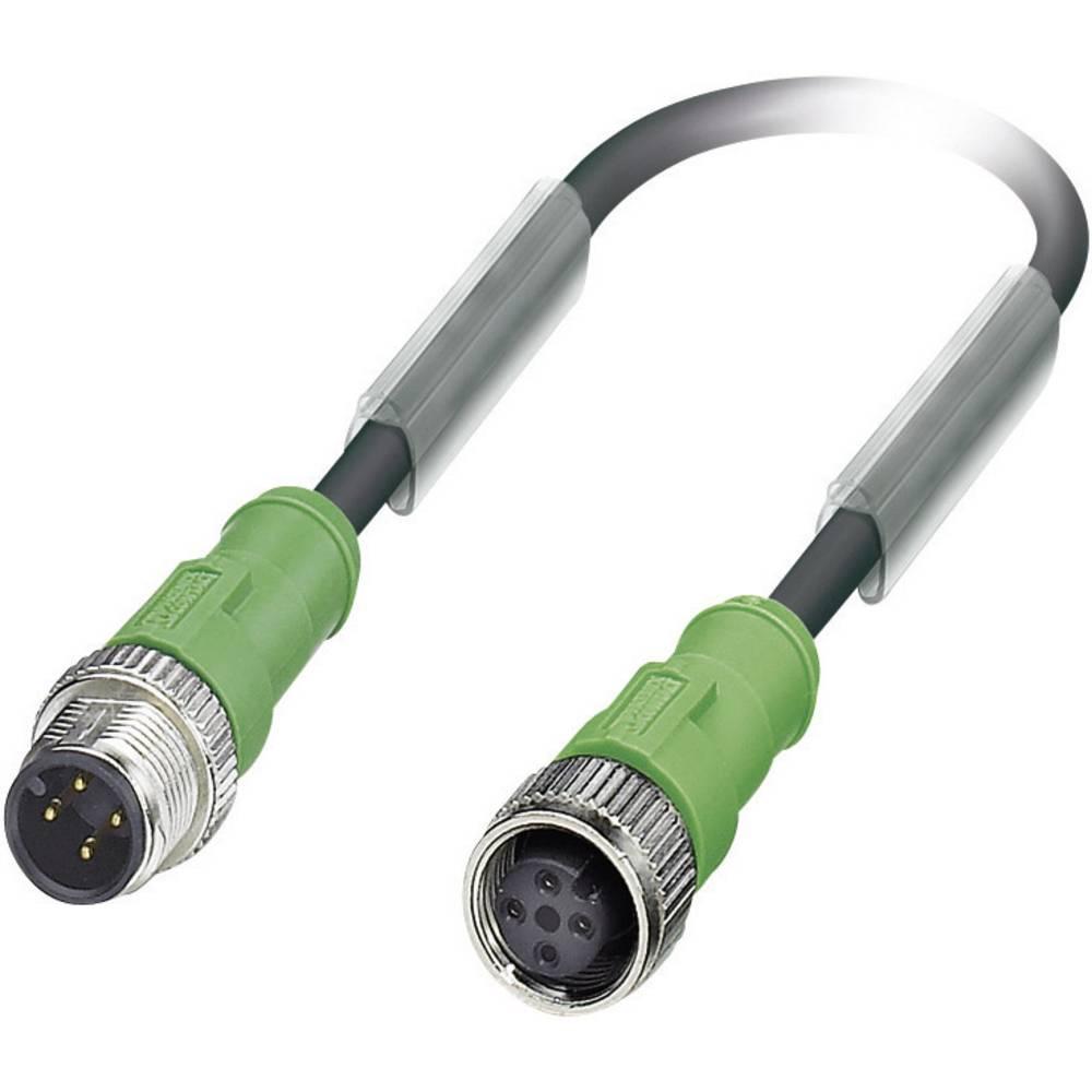 Senzorsko-aktuatorski kabel št.polov: 4 SAC-4P-M12MS/ 1,5-PUR/M12FS Phoenix Contact vsebina: 1 kos