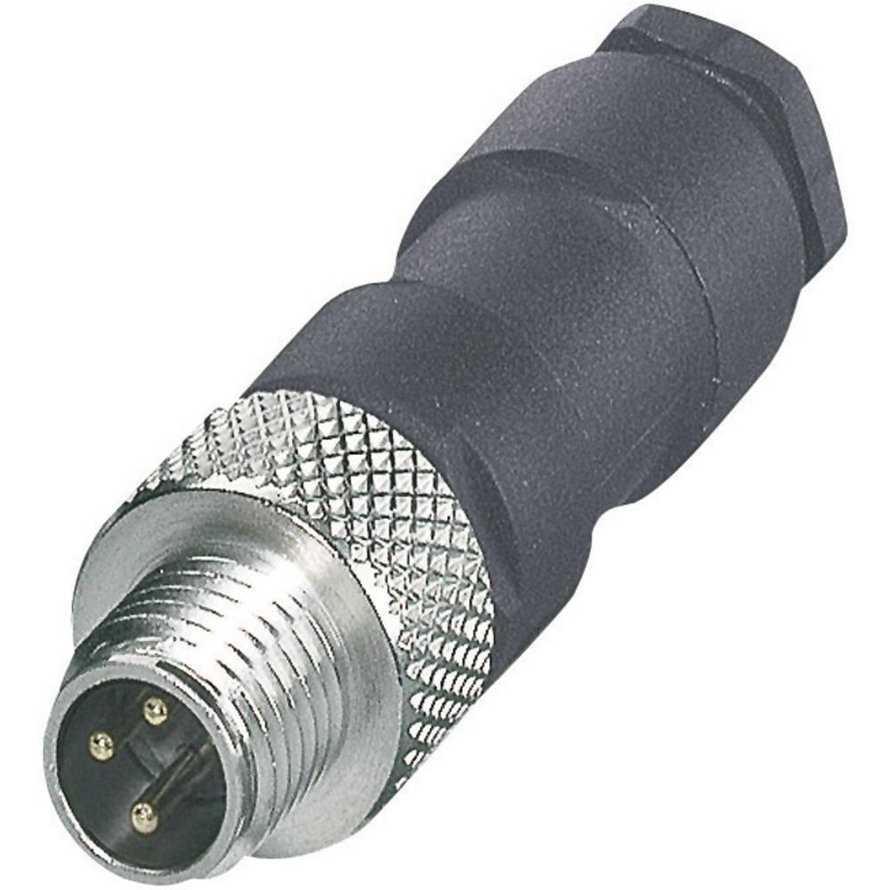 Konektorji M8 z možnostjo predpripravein spajkalnim priključkom SACC-M 8MS-3CON-M P 1681156 Phoenix Contact