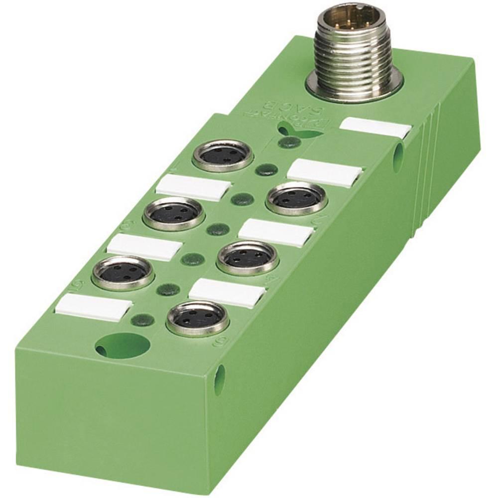 Škatle za senzorje/aktuatorje SACB z vtičnimi mesti M8, kovinski navoj SACB- 6/3-L-M12-M8 P 1516247 Phoenix Contact