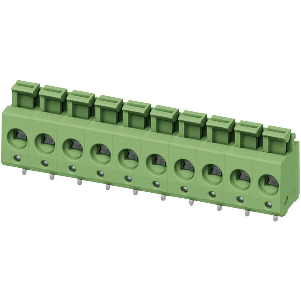Fjederkraftsklemmeblok Phoenix Contact PTS 1,5/ 4-5,0-H 2.50 mm² Poltal 4 Grøn 1 stk