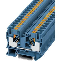Push-In provodna stezaljka PT PT 10 BU Phoenix Contact plave boje, sadržaj: 1 kom.