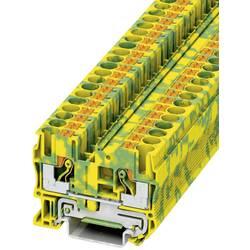 Push-In stezaljka sa zaštitnim vodičem PT-PE PT 6-PE Phoenix Contact zeleno-žute boje, sadržaj: 1 kom.