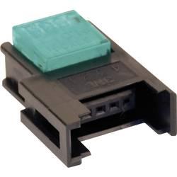 Niskonaponska priključna spojka, poprečni presjek: 0.3-0.56 mm2 br. polova: 3 3M Miniclamp 1 kom. plava