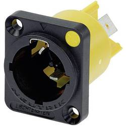Strømstik Serie (netstik) powerCON Stik, indbygning lodret Samlet poltal: 2 + PE 16 A Sort Neutrik NAC3MPX 1 stk