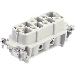 Industrijski konektor serije HanR HsB - vložek HanR 6 HsB (7-12) Harting 09 31 006 2711