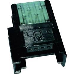 Niskonaponska priključna spojka, poprečni presjek: 0.3-0.56 mm2 br. polova: 4 3M Miniclamp 1 kom. zelena