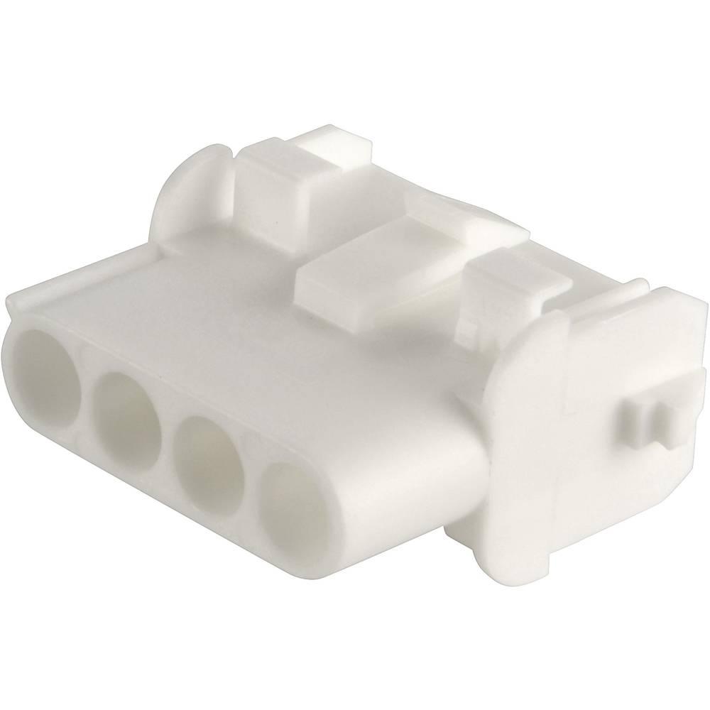 Tilslutningskabinet-kabel Universal-MATE-N-LOK (value.1360506) Samlet antal poler 3 TE Connectivity 350767-1 Rastermål: 6.35 mm