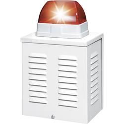 Larmsiren med blixtljus ABUS SG1650 110 dB Röd Inomhus, Utomhus 12 V/DC