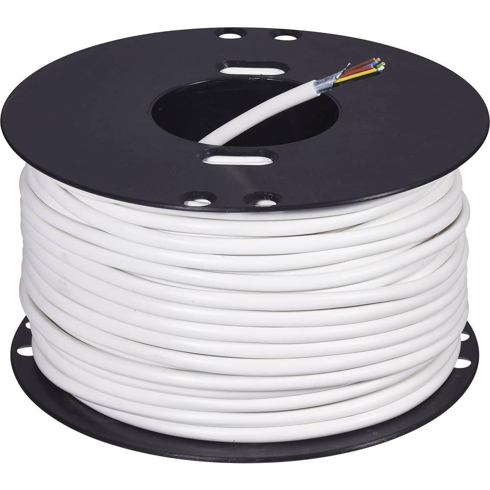 Alarmni kabeli 8 x 0,22 mm2 bijela ABUS AZ6360