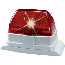 Xenon röd blixtlampa för inom- och utomhusbruk ABUS SG1670 Röd