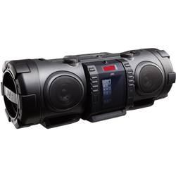 FM Ghettoblaster JVC RV-NB75BE AUX, Apple-Dock, Bluetooth, CD, FM, USB Svart