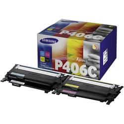 Originalni toner CLP-P406C Samsung kombinirano pakiranje crna, cijan, magenta, žuta kapacitet stranica maks. 2000 stranica