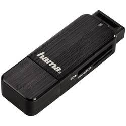 Vanjski čitač memorijskih kartica Hama USB 3.0, crna