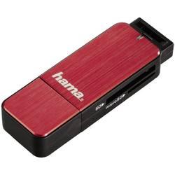 Extern minneskortläsare Hama 123902 USB 3.0 Röd