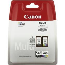Bläckpatron Value Pack Original Canon PG-545, CL-546 Kombi-pack Svart, Cyan, Magenta, Gul