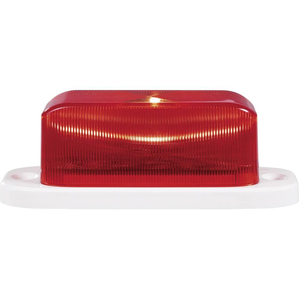 Utripajoča luč za alarme, rdeče barve, Renforce RF-3388964, 12 V/DC, 24 V/DC