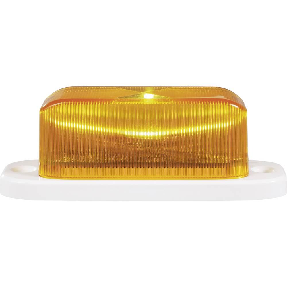 Alarmna utripajoča luč, oranžne barve, notranja/zunanja uporaba 12 V/DC, 24 V/DC Renkforce RF-3348690
