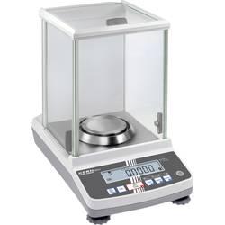 Analizna tehtnica Kern ABS 220-4N, območje tehtanja do 220 g, natančnost 0.1 g, omrežno napajanje, srebrna