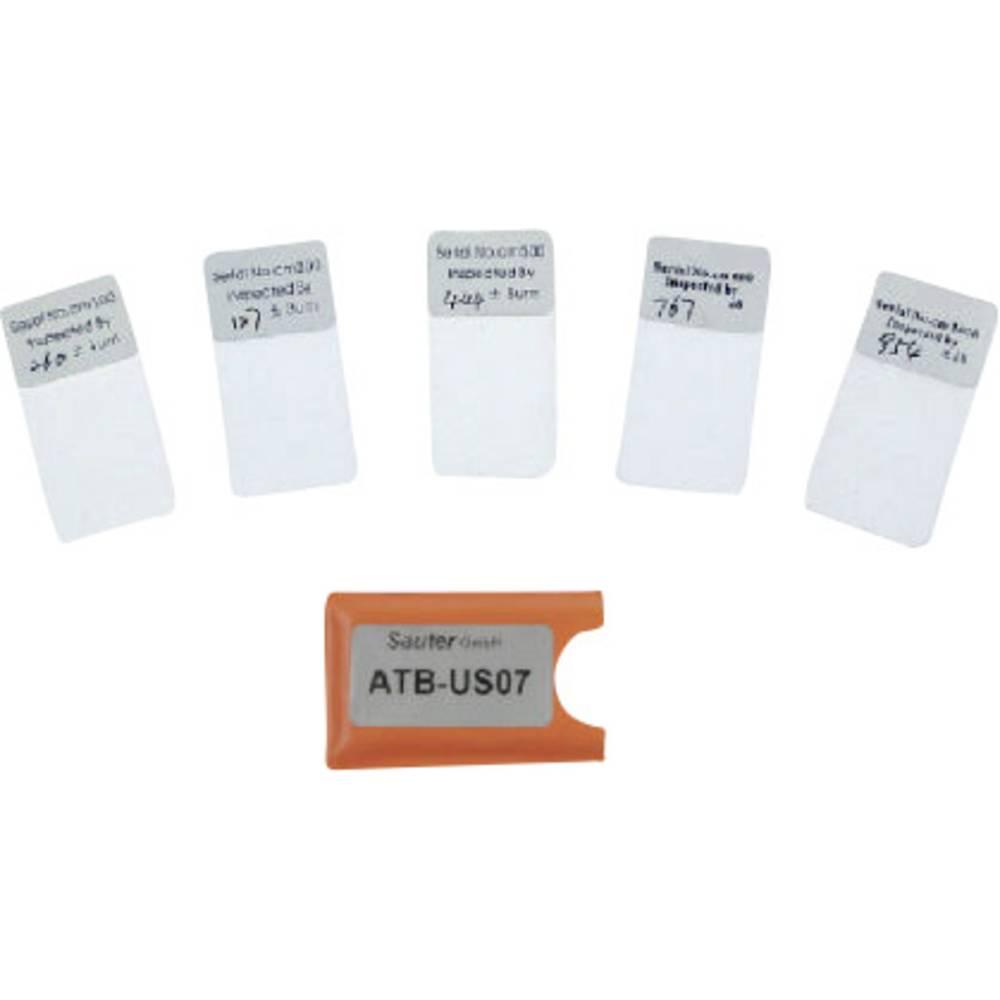 Primerjalne folije Sauter ATB-US07 za preverjanje natančnosti merjenja za digitalni merilnik debeline <a href=http://www.kern-s