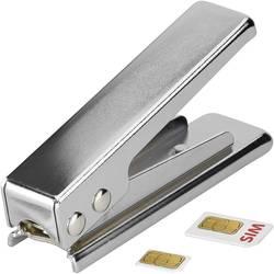 Goobay 47009 Pripomoček za obrezovanje SIM-kartic Prirejeno po: Standardna SIM Prilagojeno na: Micro SIM