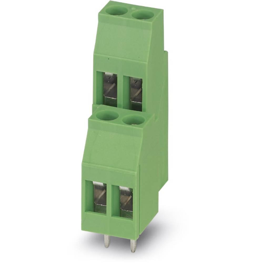 Dobbeltrækkeklemme Phoenix Contact MKKDS 3/ 2-5,08 2.50 mm² Poltal 4 Grøn 50 stk