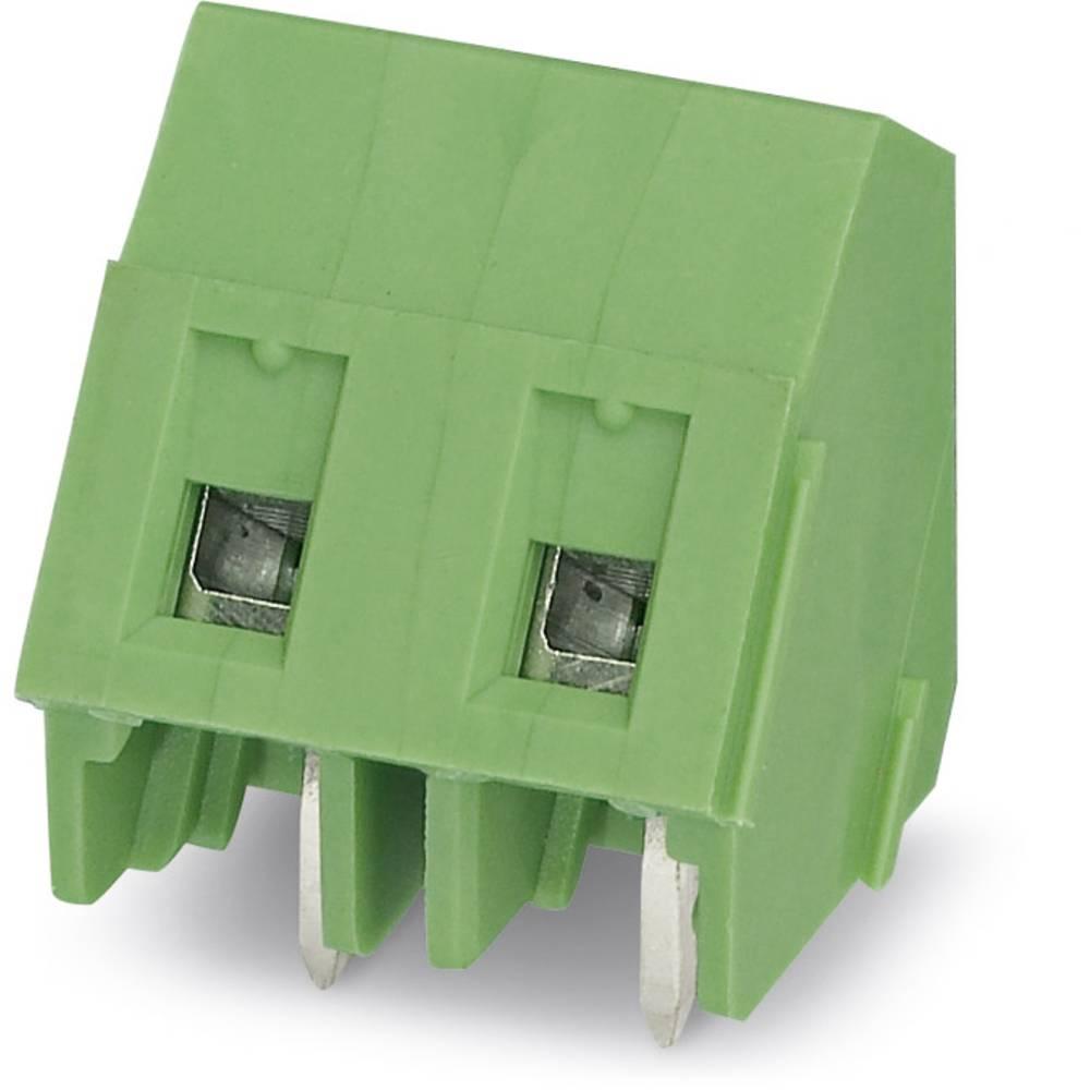 Skrueklemmeblok Phoenix Contact GSMKDSP 1,5/ 2 1.50 mm² Poltal 2 Grøn 250 stk