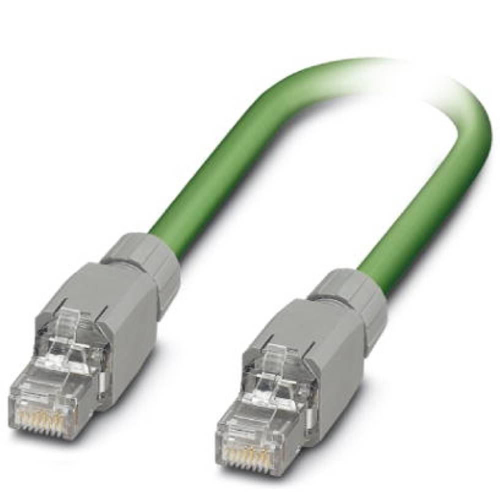 RJ45 omrežni priključni kabel CAT 5, CAT 5e SF/UTP [1x RJ45-vtič - 1x RJ45-vtič] 10 m zelen Phoenix Contact