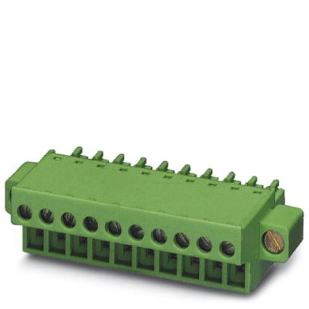 Tilslutningskabinet-kabel FRONT-MC (value.1361045) Samlet antal poler 14 Phoenix Contact 1850974 Rastermål: 3.81 mm 50 stk