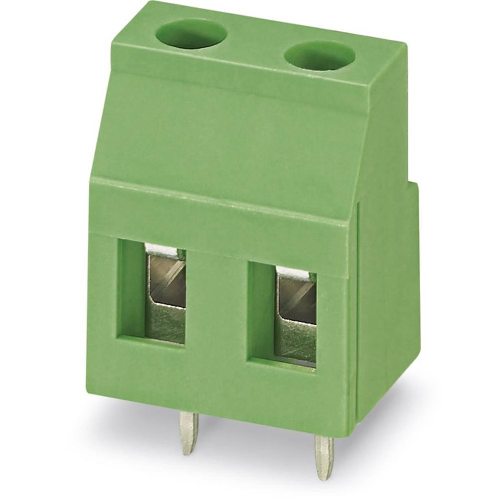 Skrueklemmeblok Phoenix Contact GMKDS 3/ 2-7,62 2.50 mm² Poltal 2 Grøn 100 stk