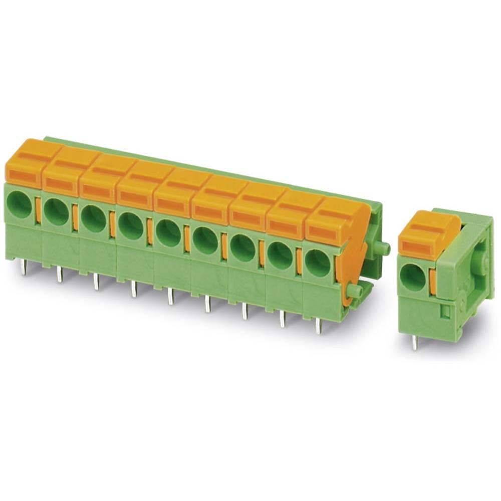 Fjederkraftsklemmeblok Phoenix Contact FFKDSA1/H1-5,08- 2 1.50 mm² Poltal 2 Grøn 50 stk