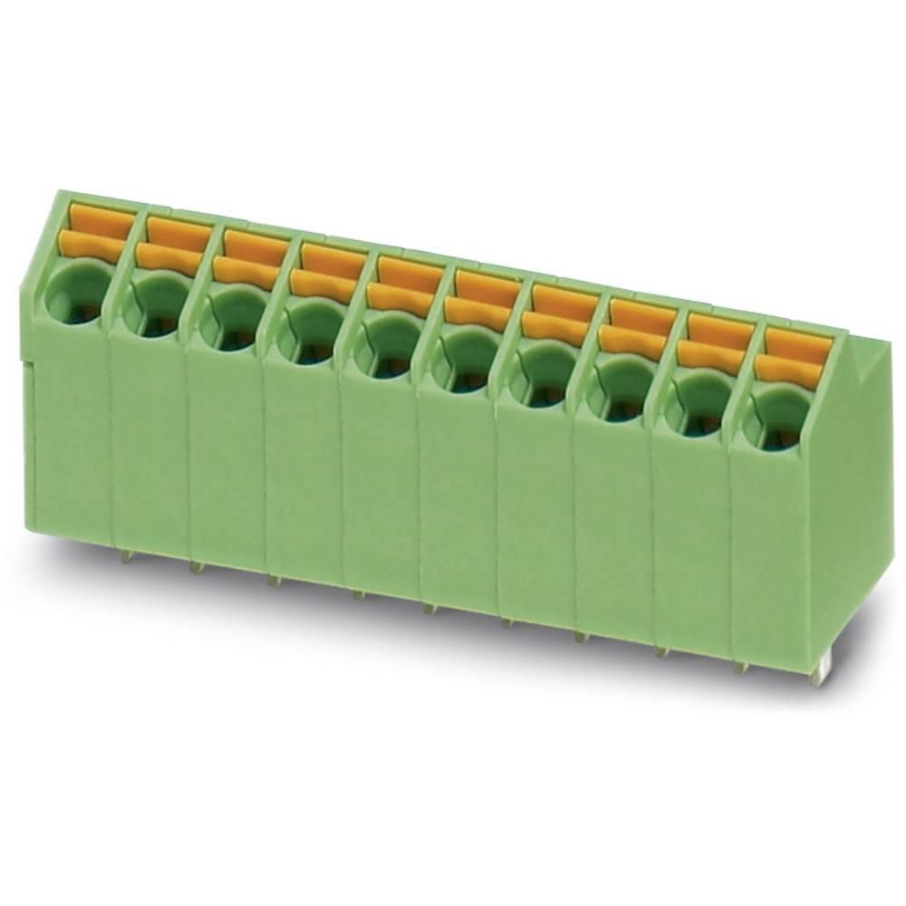 Fjederkraftsklemmeblok Phoenix Contact SPTA 1/ 6-3,5 1.00 mm² Poltal 6 Grøn 50 stk