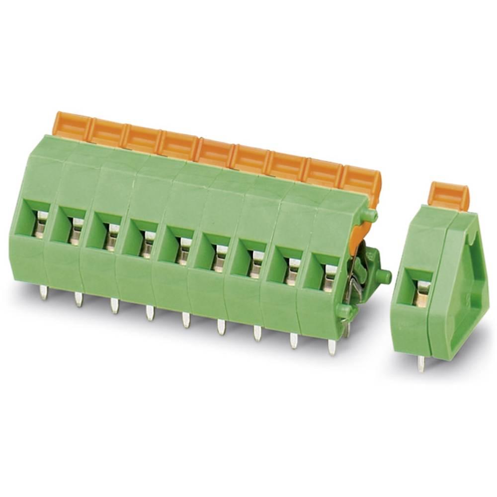 Fjederkraftsklemmeblok Phoenix Contact ZFKDSA 1,5-W-5,08- 2 1.50 mm² Poltal 2 Grøn 50 stk