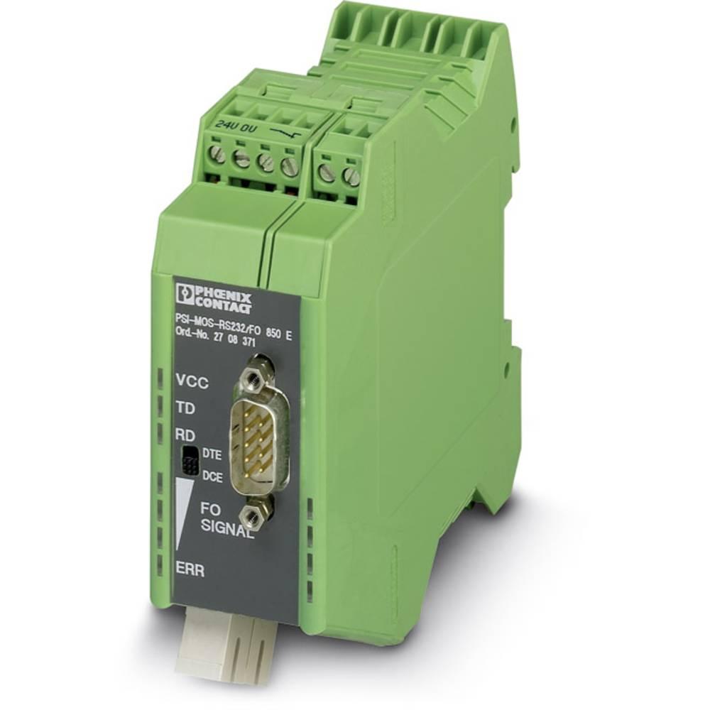 Optički pretvarač Phoenix Contact PSI-MOS-RS232/FO1300 E optički pretvarač