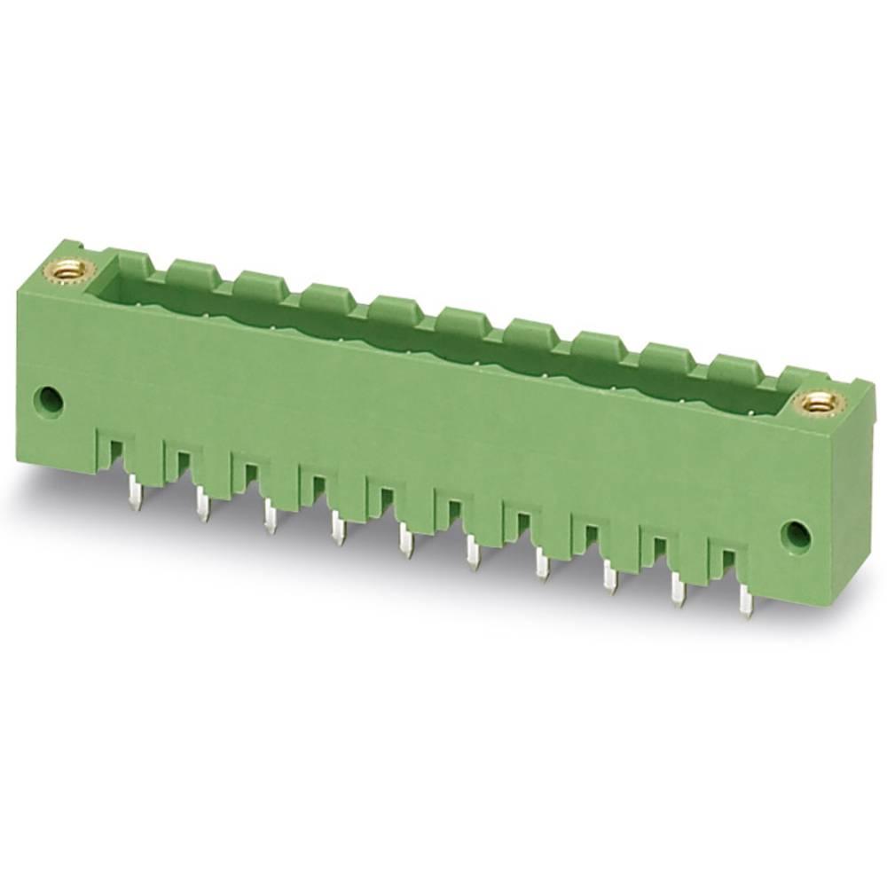 Stiftkabinet-printplade MSTBV (value.1360960) Samlet antal poler 3 Phoenix Contact 1777086 Rastermål: 5.08 mm 250 stk