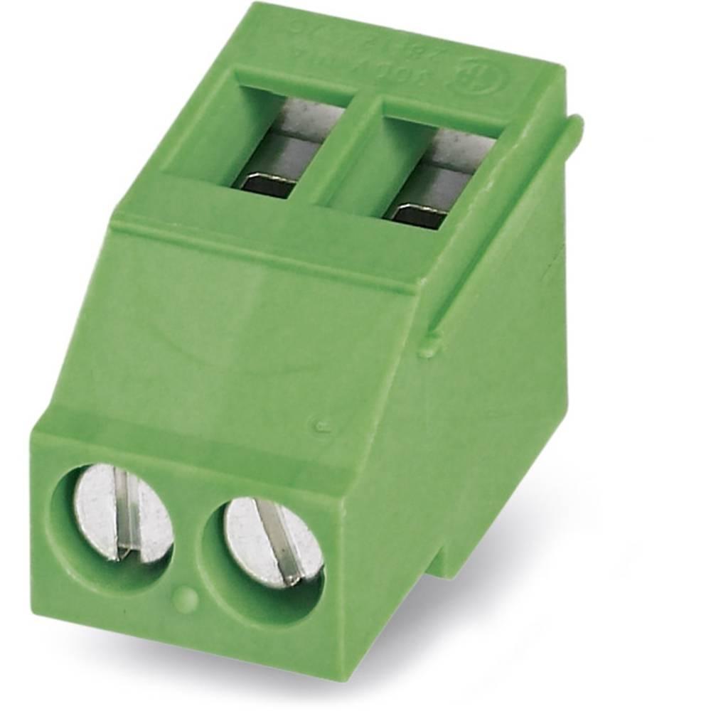 Skrueklemmeblok Phoenix Contact MKDSF 3/ 8 2.50 mm² Poltal 8 Grøn 50 stk