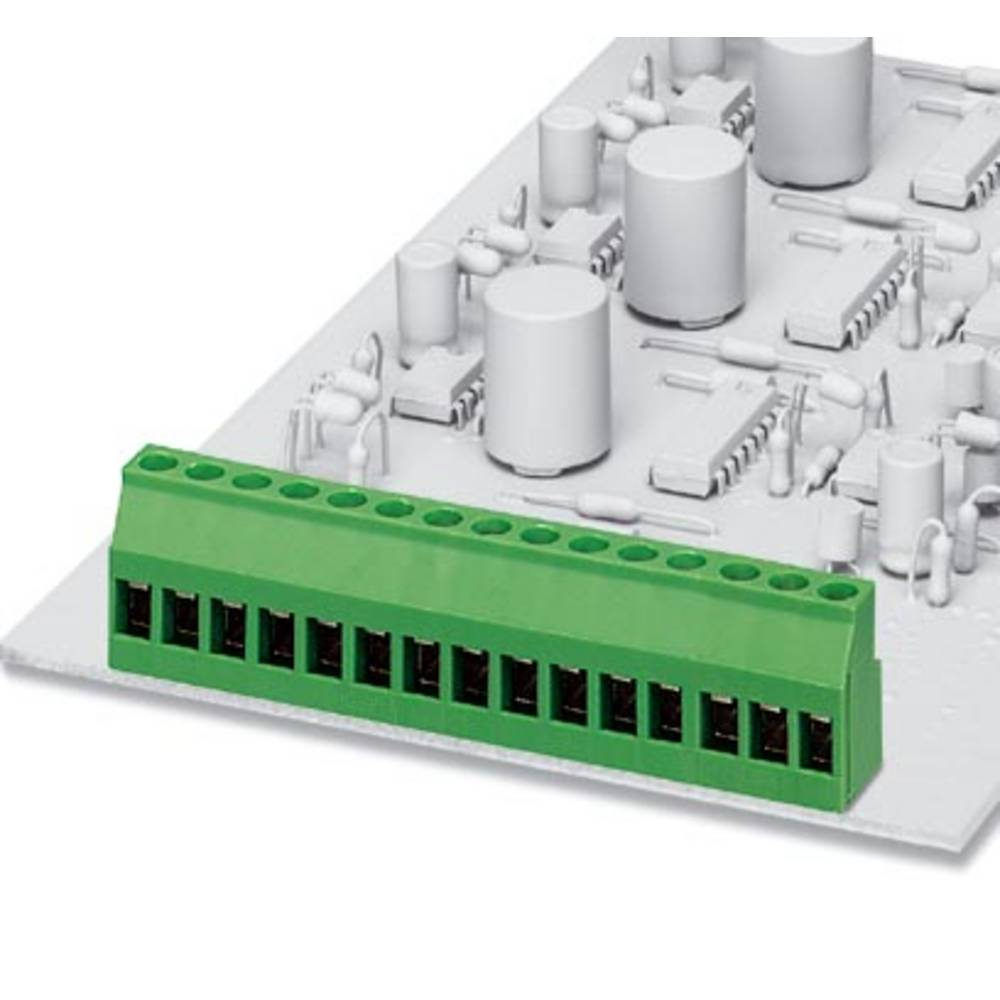 Skrueklemmeblok Phoenix Contact MKDS 3/ 3 KMGY PIN 3,5(VPE500) 2.50 mm² Poltal 3 Pistolgrå 500 stk